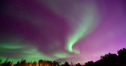 Polarlicht im Sonnensturm